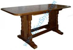 Sliding table from the massif for the house, the