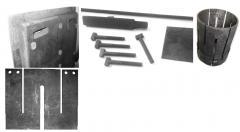Изделия из углепластиков (УГП), углерод-углеродных