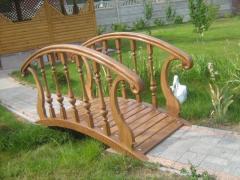 Декоративные мостики, декоративные деревянные