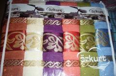 Комплект банных полотенец - Ozkurt 100% хлопок