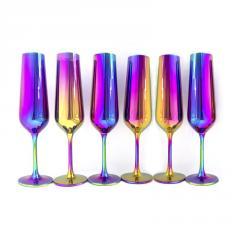 Набір келихів для шампанського Bohemia Strix 200