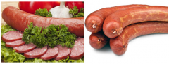 "Half-smoked sausage goods ""Kuban"