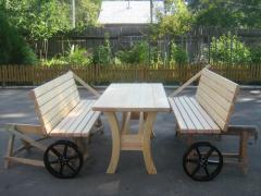 Мебель садовая, мебель деревянная