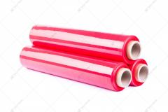 Стретч-пленка техническая 23 мкм JUMBO красная