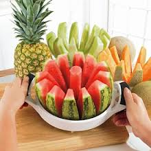 Melon Slicer will Beautifully cut a water-melon or