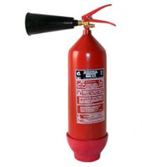 Carbon dioxide BBK-3,5 (OU-5) fire extinguisher.