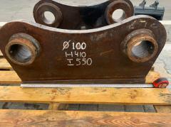 Переходная плита на гидромолот проушины 100 мм