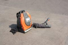 Garden vacuum cleaner