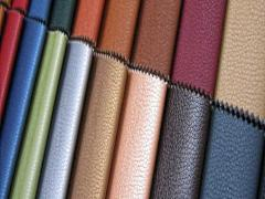 Imitation leather from the producer, a leather