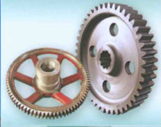 Spare parts to tower cranes: gear wheels,