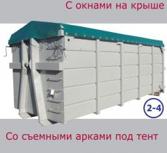 Containers for export from the producer Volga