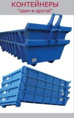 Eurocontainers and tanks for garbage for export