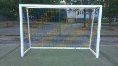 Gate for pass soccer