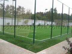 Coverings for mini-soccer Kharkiv. Laying of a