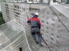 Сетка защитно-улавливающая (ЗУС) для строек, сетка