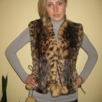 Vestees wholesale from natural fur of the