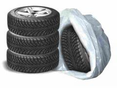 Bags for tires