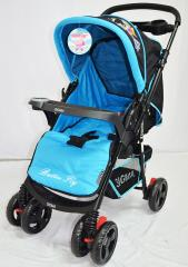 Baby carriages of Sigma K-118F, blue