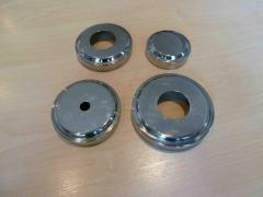 Products for a handrail, false cups from stainless