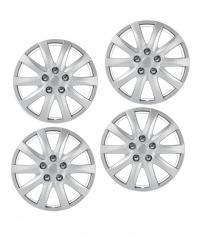 Колпаки на колеса 4 шт R 15 Ultimate SPEED серый