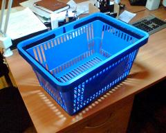 Trade baskets from the producer