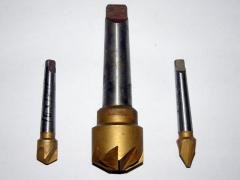 The countersink is hard-alloy