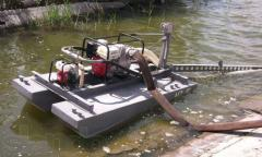 Pump equipment - dredges. Production of any
