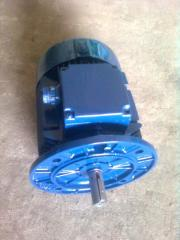 The electric motor with a brake AIR90L6/4E