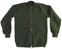 The jacket is fleece.