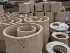Reinforced concrete rings, plates of the bottoms