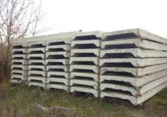 Плиты покрытия