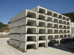 Trays reinforced concrete under laying of