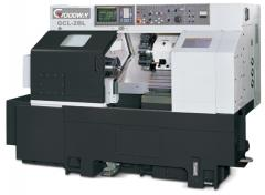 Lathe of GOODWAY of fashions. GCL-2B with ChPU FANUC 0-iTD the Lathe with ChPU Goodway GCL-2B