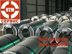 Roll galvanized from 0,3 to 2,0 mm thick