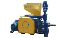 Equipment for briquetting of sawdus
