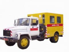 Masterful/breakdown vehicle