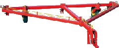 Hitch cultivator SK-8