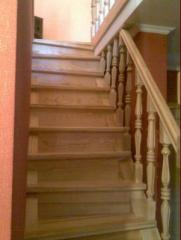 Изготовление лестниц для дома. Лестницы из дерева