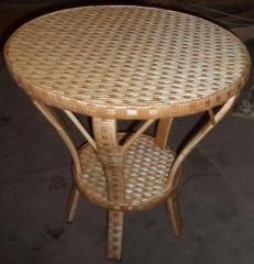 Мебель из лозы, Стол из лозы ручной работы купить