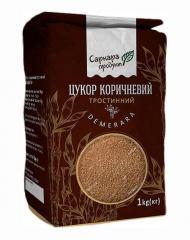 Сахар тростниковый Демерара коричневый,  1кг