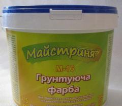Краски грунтовочные, краска Основываясь Мастерица М-16 7,5 кг., купить, заказать, оптом, Винница, Украина