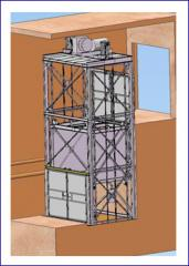 Freight Elevators. Cargo platforms (lift type).
