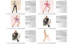 Hosiery from newborns to adults, for every taste,