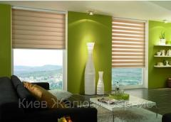 Rolled curtains Day-night with a discount of 40%