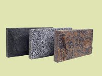 Плитка облицовочная Скала, габбро цвет черный