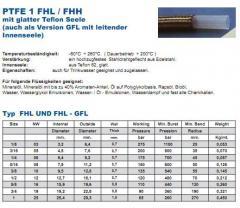 Sleeve heat-resistant PTFE, t-260*C