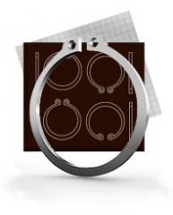 Lock rings of Din 471, Din472