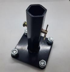 Ступица на мотоблок 24 мм, длина 140 мм+болты,