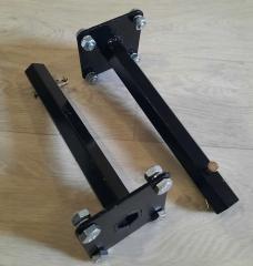 Ступицы на мотоблок 24 мм, длина 270 мм+болты,