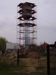 Утепление башни водонапорной